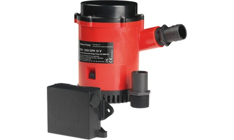 JOHNSON PUMPS 02274-001 HD Bilge Pump 2200 GPH w/Ult. Switch 12V photo