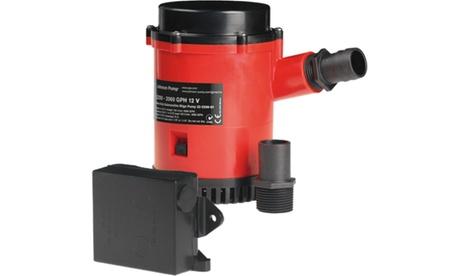 JOHNSON PUMPS 02274-002 HD Bilge Pump 2200 GPH w/Ult. Switch 24V photo