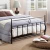 Ester Antique Metal Platform Bed