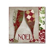 Color Bakery 'Holiday Cheer Two' Canvas Art
