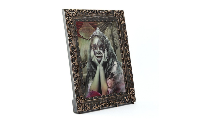 Halloween Horror Changing Portrait Photo Frame with Sound | Groupon