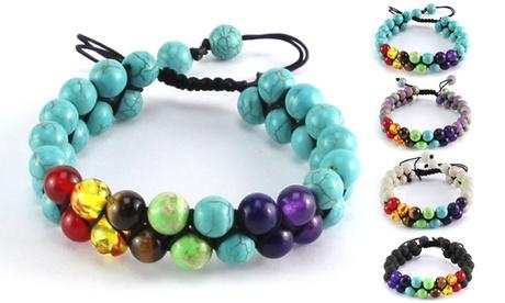 7 Chakras Healing Crystals Bracelet Yoga Stone Beads Bracelets