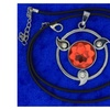 Naruto Sharingan Necklace or Keychain Anime CosPlay Inspired