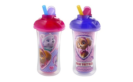 Munchkin Paw Patrol Click Lock Insulated Straw Cup, 2 Count ab708007-7253-4111-b6bb-7a7d31eaa748