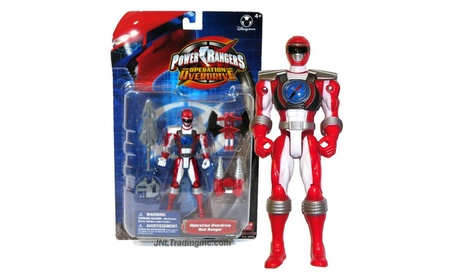 Power Rangers Operation Overdrive Japanese 12 Inch Action Figure Red afffbfba-f19f-459a-b190-de633fc89fdf