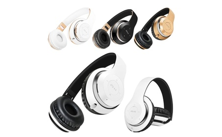 Wireless Bluetooth Headphones Foldable Headset Stereo Heavy Bass 5d0e2ebd-b2bf-4c7e-919e-5928ace06773