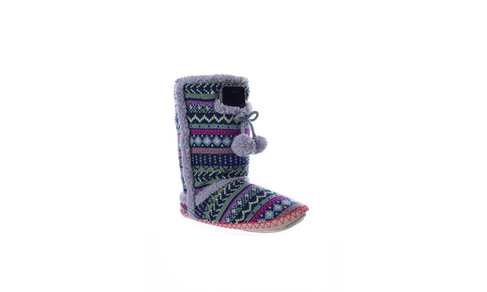 Navajo Outdoor Slipper Sock
