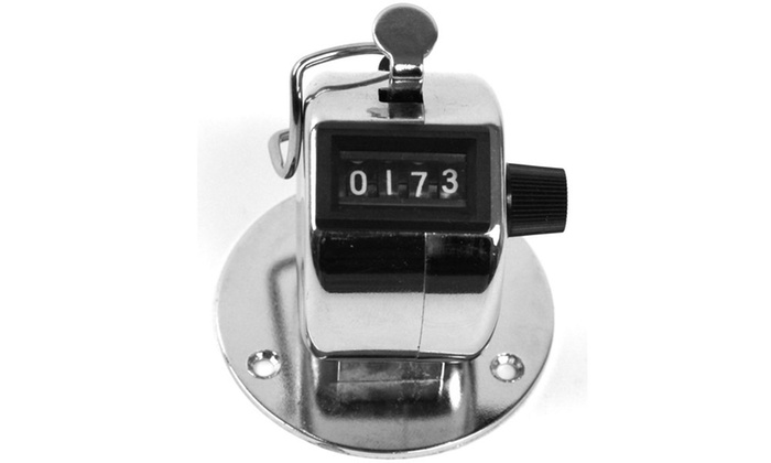 Stalwart Tally Counter Clicker - Handheld or Base Mount
