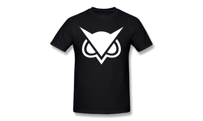 3T-tshirts Men's Vanossgaming Hoodini Logo  T-shirts Black
