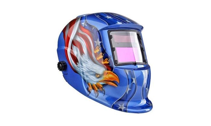 Solar Auto Darkening Welding/grinding Helmet Hood
