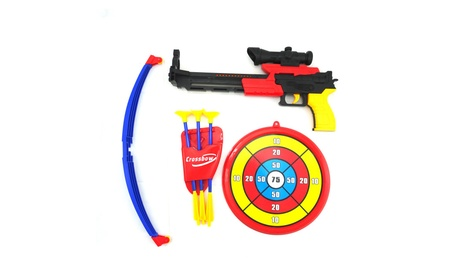 Toy Bow And Arrow Kids Crossbow Target Practice a3672fc6-0ead-4f18-aa32-35286981ccb6
