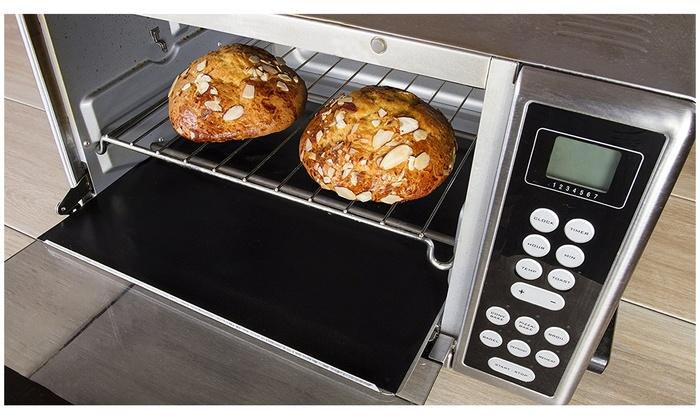 Toaster Oven Liner Heavy Duty Teflon Nonstick Bpa Free Baking Mat