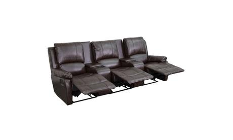 3-Seat Home Theater Recliners 81522b67-151c-4208-904f-beaae1eb61b1