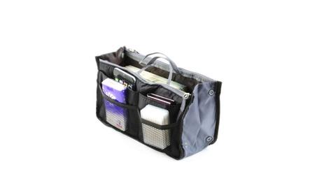 Women Lady Travel Insert Handbag Organiser Purse Large Liner Organizer fb273120-e416-440d-b6f3-496033d3ebb2