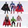 About 10cm 6Pcs/Lot The Avengers figures super hero toy