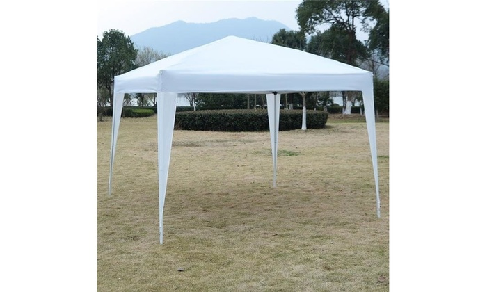 Onlinegymshop Cb19150  Ft Outdoor Ez Pop Up Tent Gazebo Canopy White