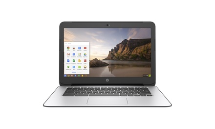 "HP 14"" Chromebook G4 Intel Celeron N2840 4GB 16GB SSD Laptop (Scratch & Dent)"