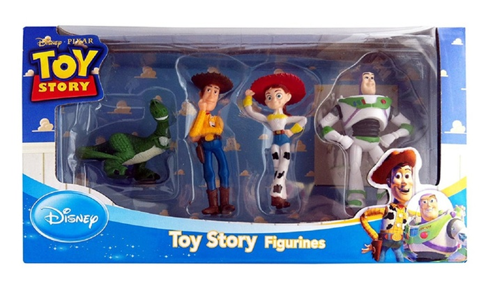 Toy Story Action Figures Set : Up to off on disney toy story figure plays groupon goods