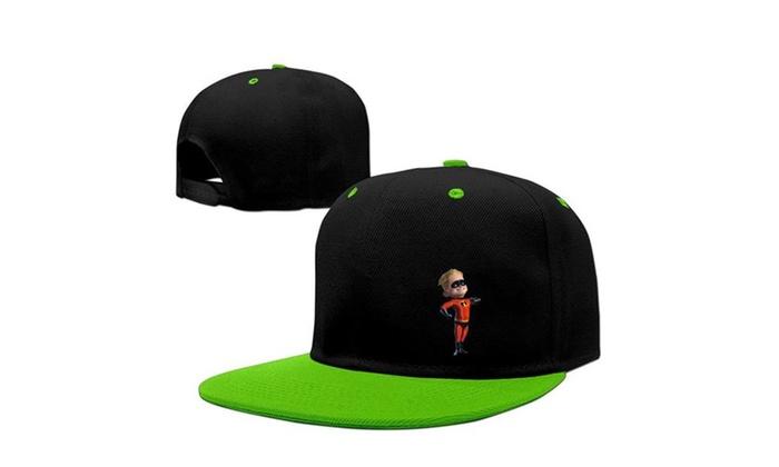 Casual The Incredibles Dash Parr Snapback Baseball Cap (3Color) ... a7a6b6d19125