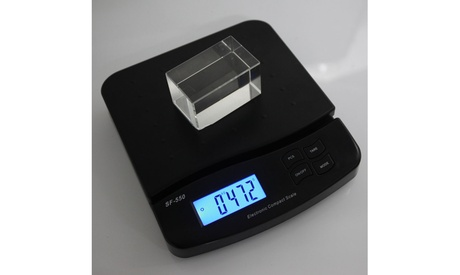 Digits Postal Scale Kitchen Scale Black