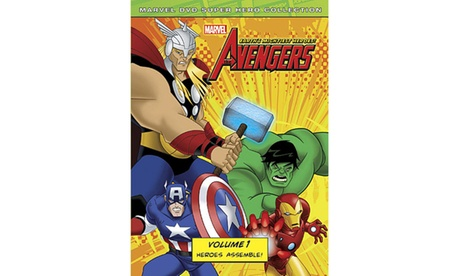Marvel The Avengers: Earth's Mightiest Heroes! Volume 1 bc163a15-f145-4650-86c8-f88dc29ff850