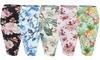 Doublju Women's Floral Stretchy Midi Pencil Skirts