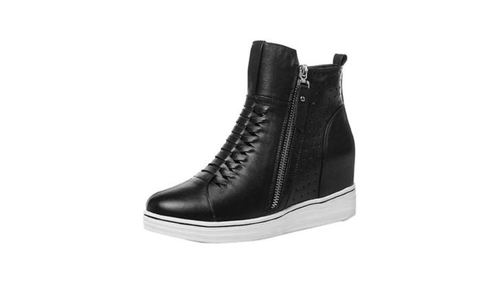 Women's Round Toe Platform Shoes