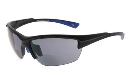 Eyekepper tr90 sports half-rimless bifocal reading sunglasses SG901 37bd4dbc-1b2c-49b4-b7cc-053718671ac8