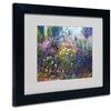 Manor Shadian 'Garden In Maui II' Matted Black Framed Art
