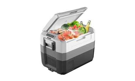 Costway 58 Quart Portable Electric Car Cooler Refrigerator Compressor Freezer