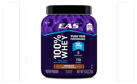 EAS 100% Pure Whey Protein Powder Chocolate 5lb Tub e73de145-056e-4c79-a5e0-215948621bd4