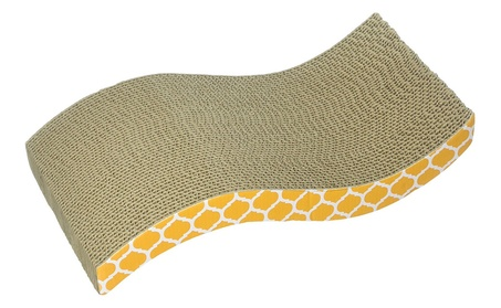 Ourpets Company - Cosmic The Wave Cat Scratcher - 1050011703 cafe03f0-e615-4aa9-b068-aa942cf7d741