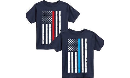 Police Firefighter and Paramedic Children's Tees