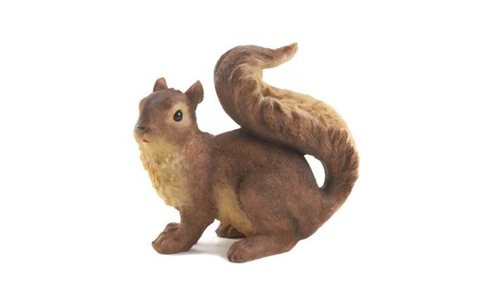 Sweet Little Squirrel Garden Statue Figure