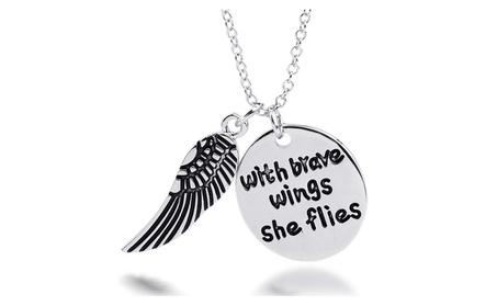 Brave Wings Pendant 3106cb95-52ba-4122-b9a5-c940821f43ae