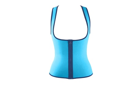 Top Workout Vest Waist Body Shaper Fat Burner Control Tummy for women