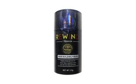 Hair Building Fibers Conceal Thinning Hair By Rewind With Nature 15g b2246c80-82a1-4c6a-8529-8ef385092549