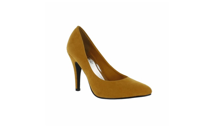 Red Circle Women's Bambi High Pointy Pump