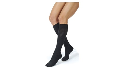 Jobst Activewear 20-30 mmHg Compression Knee Closed Toe Support Socks cf16cf65-2b8f-4b55-a9da-3fae8c852f30