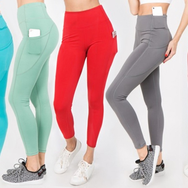 7724109d77177 Style Clad Women's Tummy Control High Rise Workout Leggings   Groupon