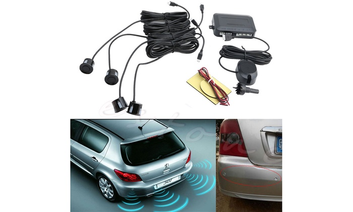 Up To 48% Off on New Parking 4 Sensors Car Rev    | Groupon