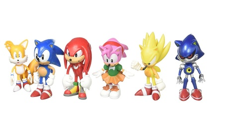 Sonic the Hedgehog Action Figure (6pcs-Set) Toy 34849c77-a6b5-4a07-bc43-e1d179dfe1f9