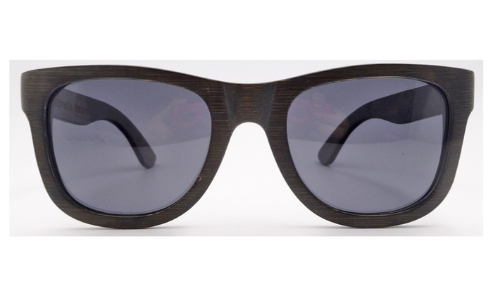 Black Stain Wooden Sunglasses