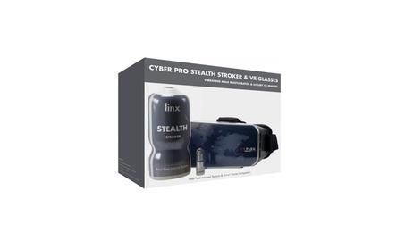 Cyber Pro Stealth Stroker & VR Headset 6b9b0b36-361c-4647-9df1-1c374ce40450