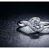 Heart Shape Design Vintage Engagement Rings For Women