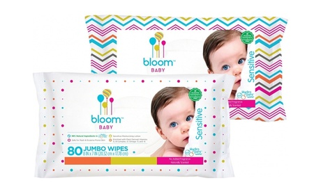 bloom BABY Sensitive Baby Wipes (80 and 240 count) 524fdfc7-ef84-439b-b49c-2a3347c7d079