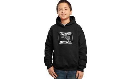 Boy's Hooded Sweatshirt - Hecho En Mexico 7df7d439-383b-4896-92bc-b64291c281e8