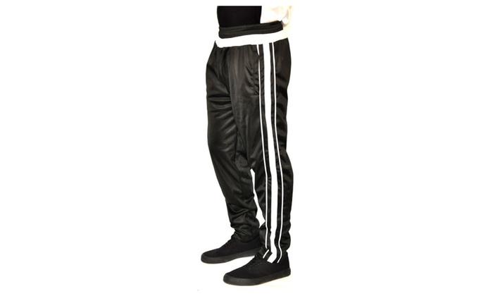 2 Pack Men's  Striped Training Pants