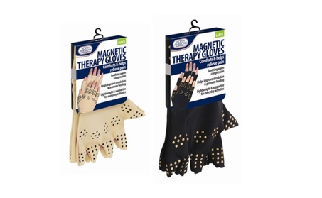 Magnetic Gloves Arthritis Therapy Support Pressure Pain Relief Heal