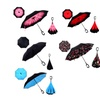 Windproof Reverse Folding Double Layer Inverted Chuva Umbrella